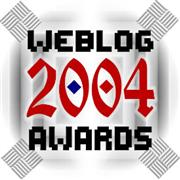 2004 Weblog Awards - Logo by Suzy Rice