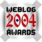 2004 Weblog Awards - Logo by Suzy Rice