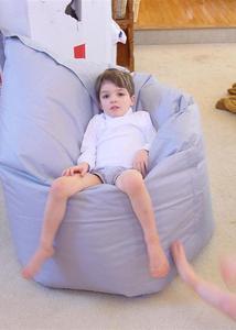 Kids Vs. Beanbag - An Urban Lounge Gear Torture Test (Wizbang)