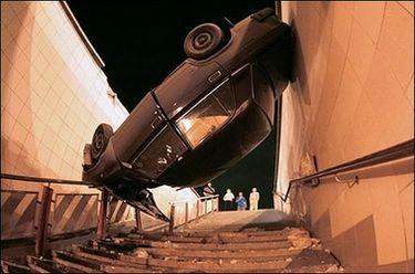 Crash landing : (AFP/Sergey Shakhidjanian)