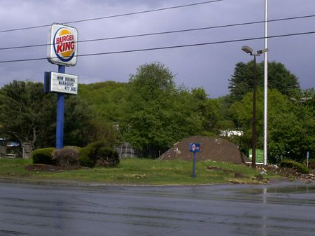 Good news: Burger King is hiring.  Bad news: Hey, what happened to the Burger King?