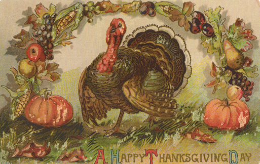 happy thanksgiving animated clip art
