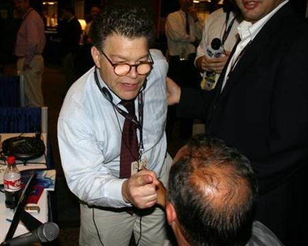 Al Franken has a meltdown