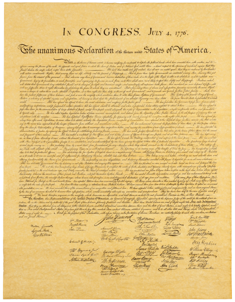 Declaration Of Independence Definition For Kids