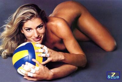 Volleyball player francesca piccinini remarkable, very