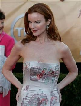 Marcia Cross, a cast member from the television series