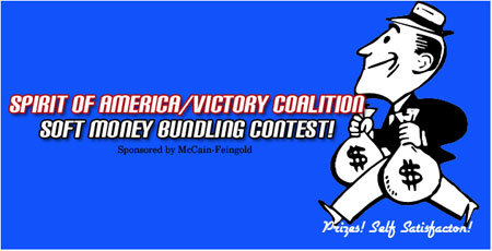 The Spirit of America Soft Money Bundling Contest