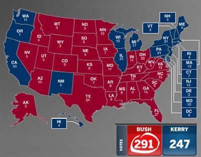 Wizbang 2004 Electoral Vote Prediction