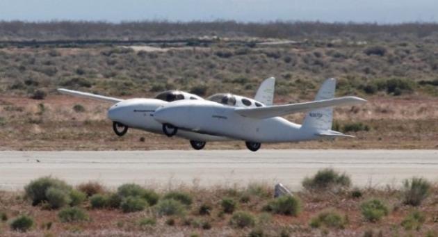 Rutan Design Model 367 Bipod
