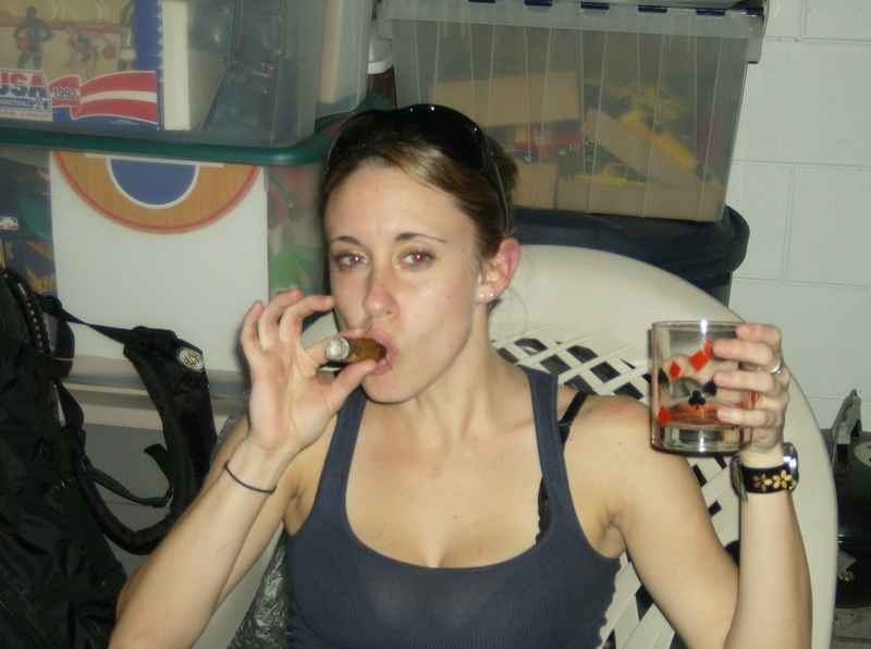 Casey Anthony celebrates