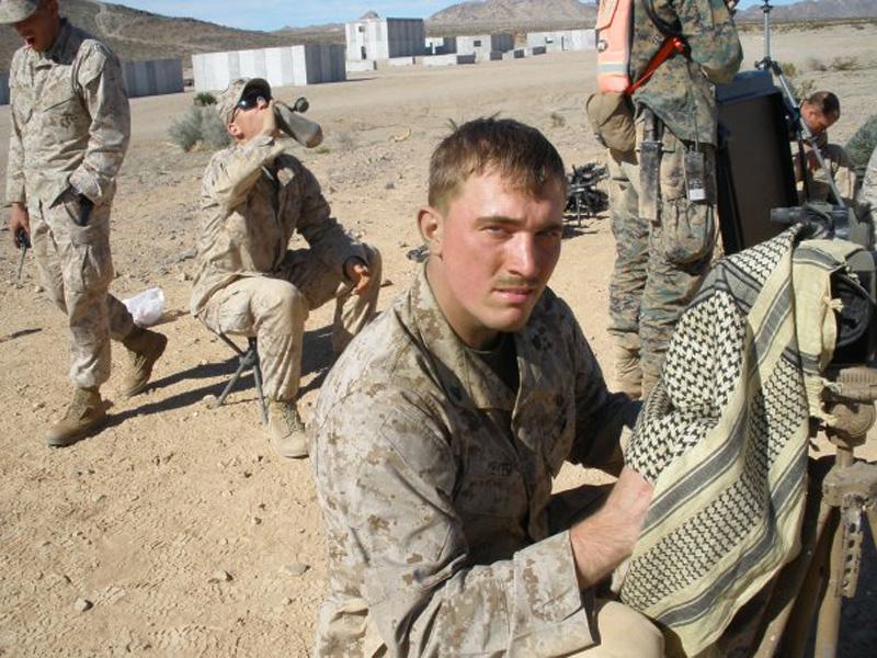 Then Corporal Dakota Meyer, USMC