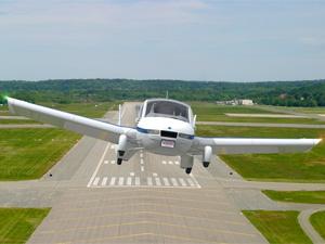 Terrafugia's Transition flying car