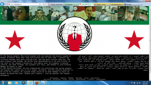 Image: Hack of Syrian Defense Ministry Site