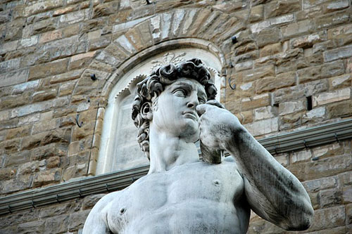 david_statue_face