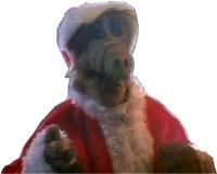 Alien Santa Image
