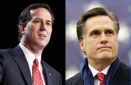 Santorum-Romney