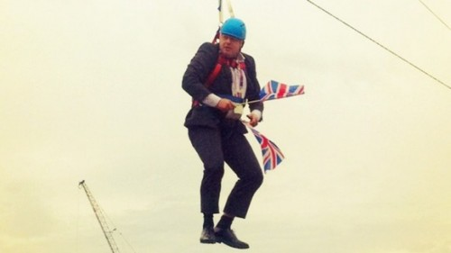 london mayor left hanging