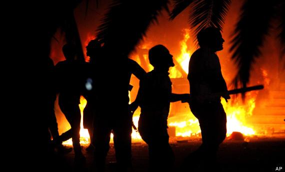 APTOPIX Mideast Libya Militant Backlash