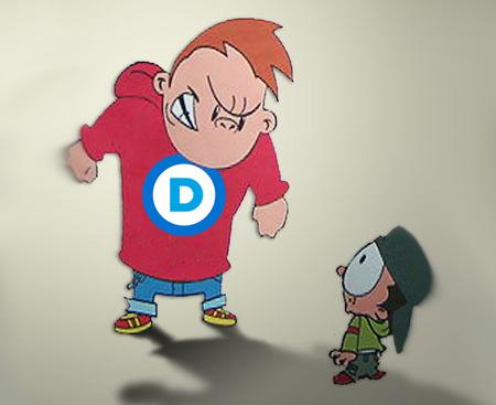 Democrat_bullies
