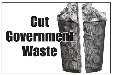 Cut Government Waste.
