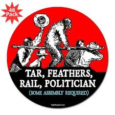 Tar Feathers Politician