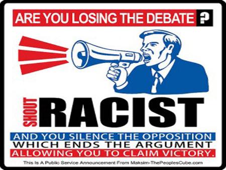 Shout Racism