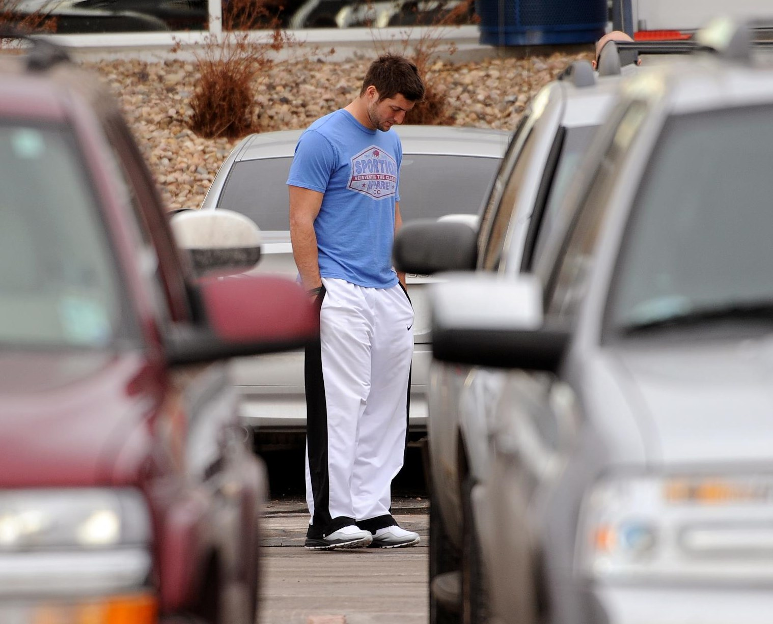 After being cut from the New York Jets, Tim Tebow is on the verge of making NFL history, but probably not exactly the way he would like, writes Mike Klis. FULL STORY: http://dpo.st/YhUGbq (Photo by Helen H. Richardson, The Denver Post)