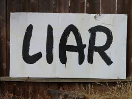 Liar - Heres your sign