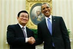 Obama and Sang