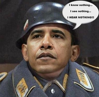 obama sees nothing