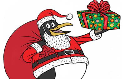 Penguin_Santa