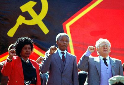 nelson mandela communist