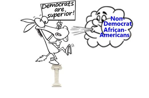 African-Americans rebuking Democrats