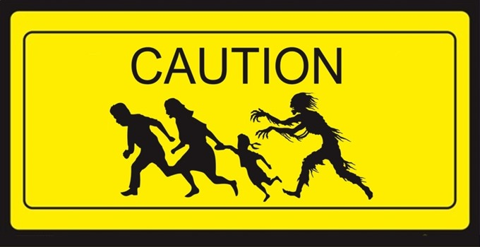 Caution - Zombie Crossing