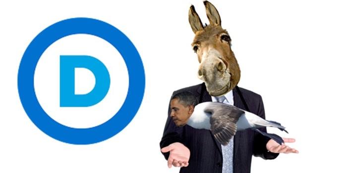 Obamatross around Dem neck