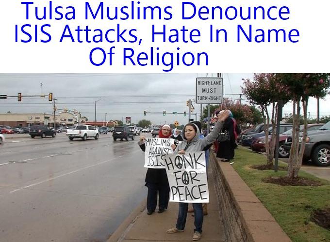 Tulsa Muslims Denounce Hate