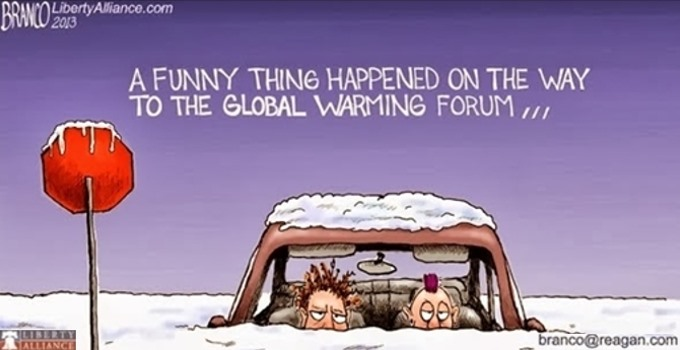 Branco - what global warming