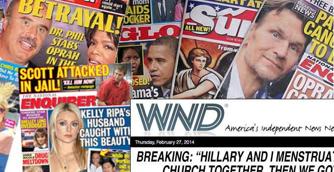 Examples of Crazy Tabloids