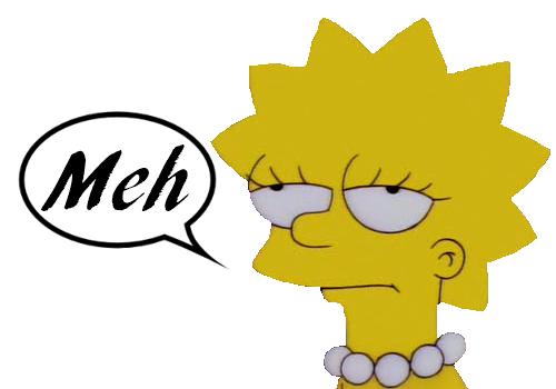 Lisa Simpson - Meh