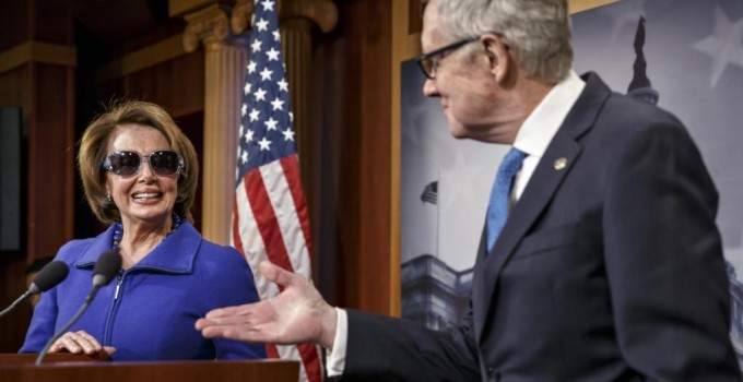 Nancy Pelosi, Harry Reid