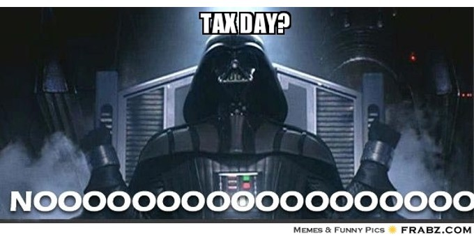 Tax Day Gag