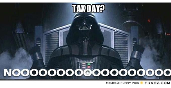 Tax Day Gag