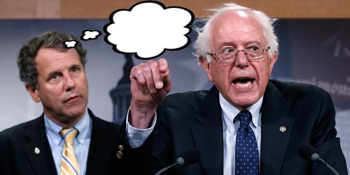 Bernie Sanders gag