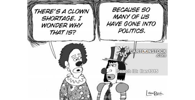 Clowns in Politics