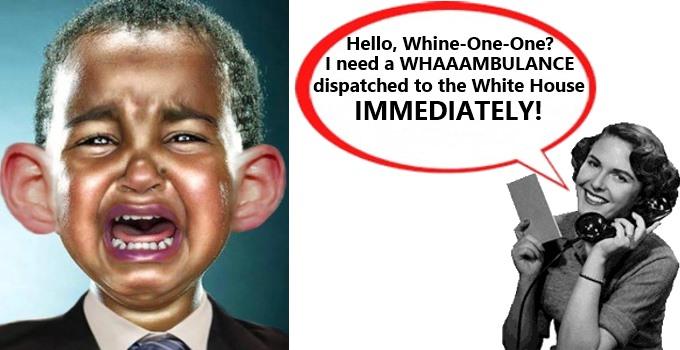 Crybaby Obama