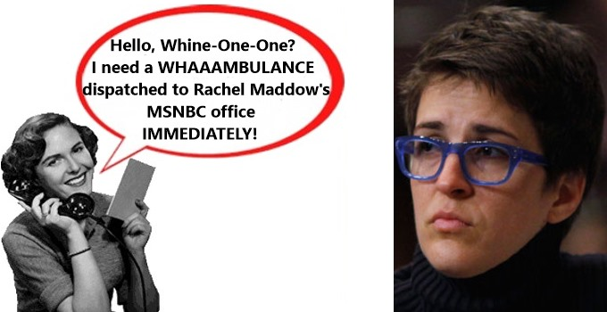 Rachel Maddow sad