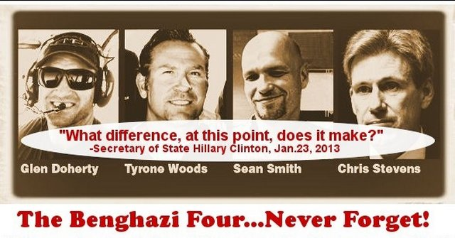 Benghazi Four Never Forget