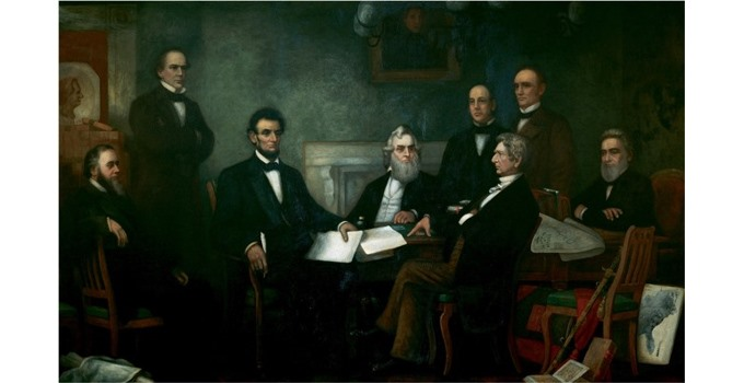Emancipation Proclamation by Francis Bicknell Carpenter