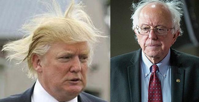 Trump and Sanders