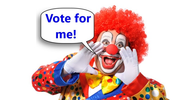 Vote for Clown